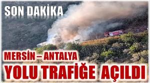D-400 KARAYOLU TRAFİĞE AÇILDI